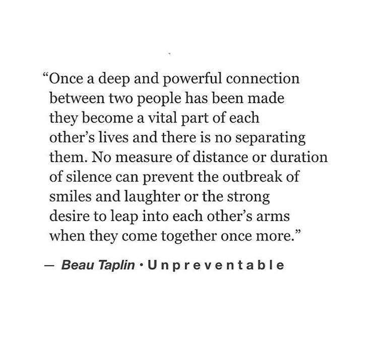 Love Quotes Once A Deep Powerful Connection Between Two People Has Been Made They Beco
