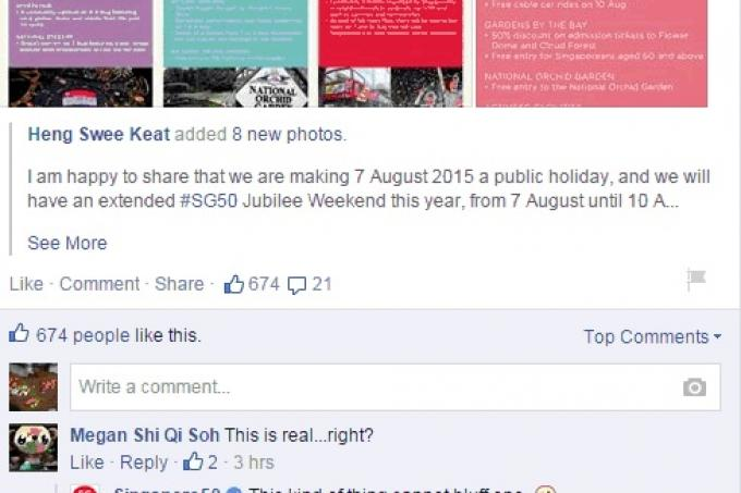 Here Are Funny Internet Posts On Aug Public Holiday