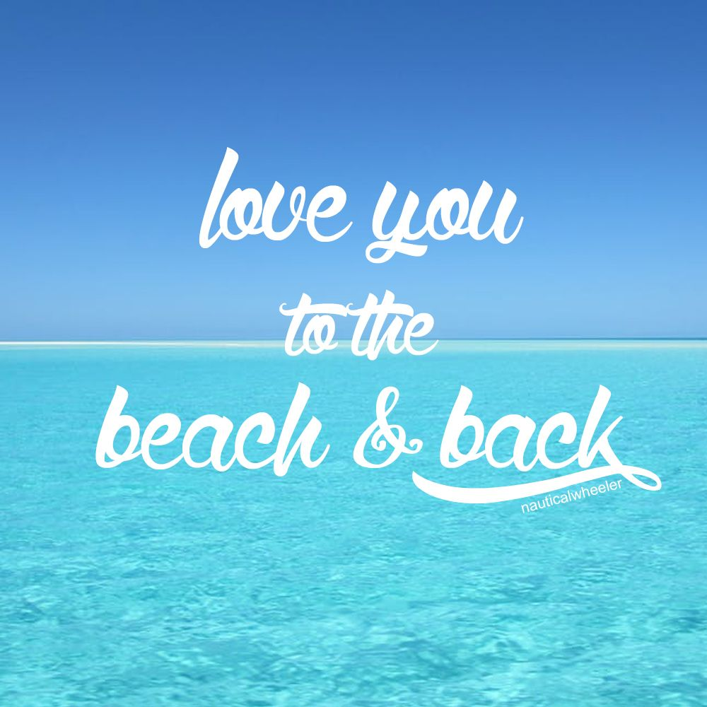 Beach Love Quote
