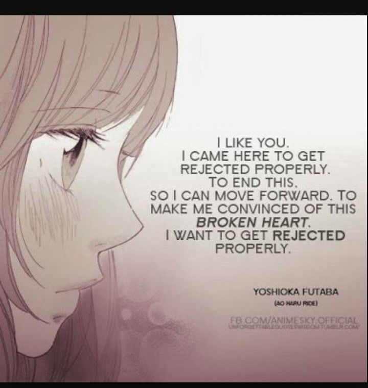 Unrequited Love Quotes Anime Google Search