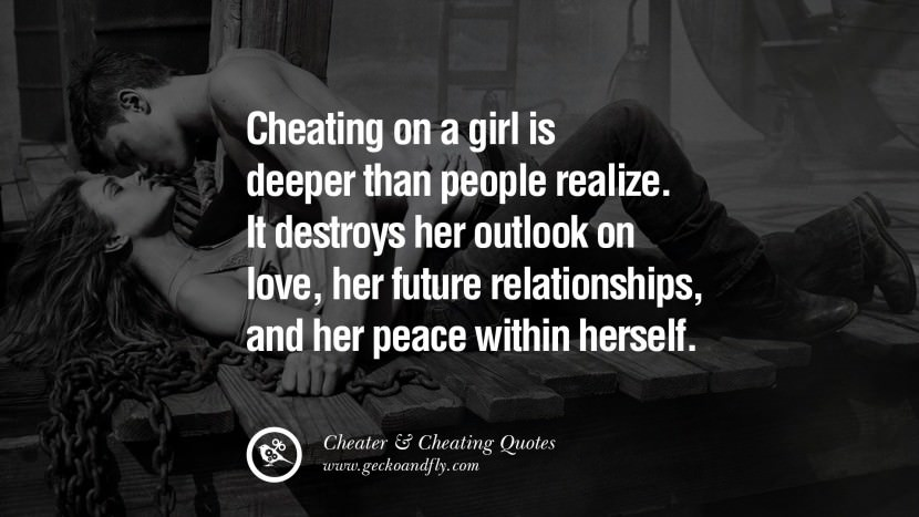 Cheating On A Girl Is Deeper Than People Realize It Destroys Her Outlook On Love