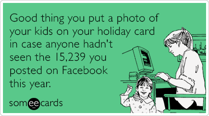 Christmas Card Children Kids Posts Facebook Funny Ecard