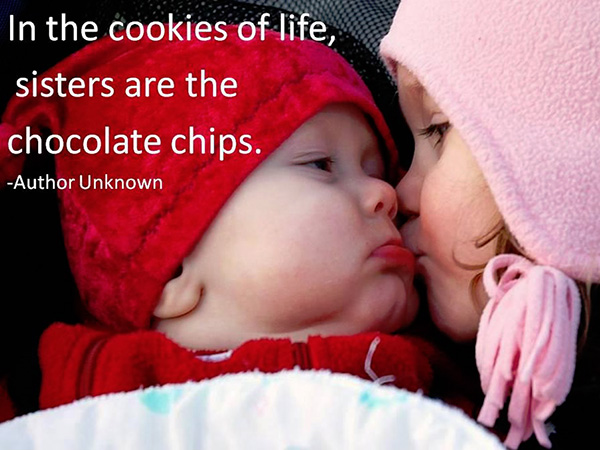 Baby Sisters A Cute Quote