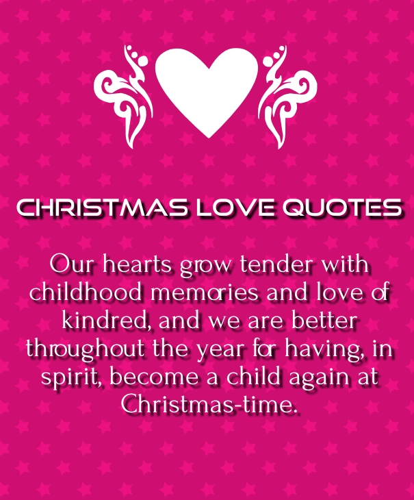 Cute Love Quotes For Him For Christmas | Hover Me