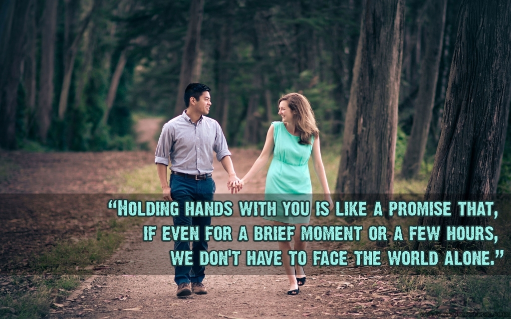Cute Couples With Quote Images Of Cute Love Couple Holding Hands With Quotes