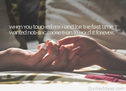 Cute Hand Love Quote Text Favim Com  Baddcfbdd
