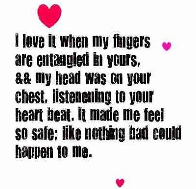 Cute Love Quotes Him Heart