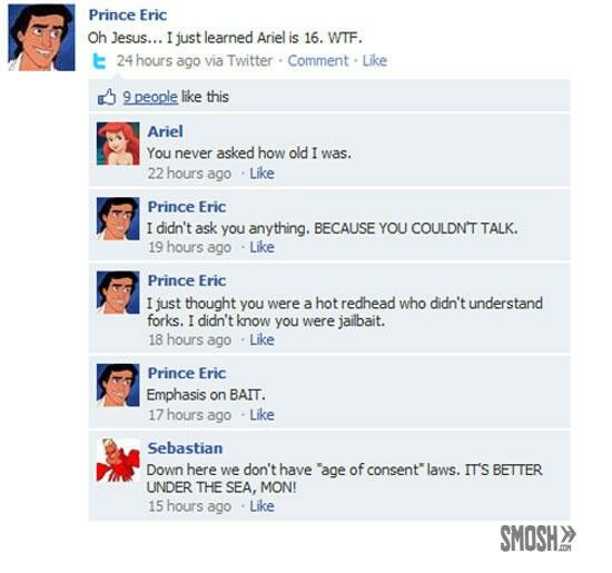 Funny Disney Facebook Statuses By Dearbhail See More Oops