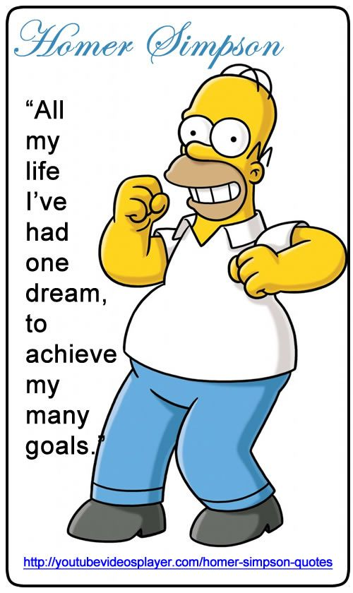 Http You Splayer Com Homer Simpson Quotes All My