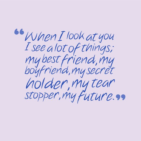 I Love My Boyfriend Quotes Quotesgeek