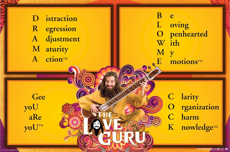 Dream Love Guru Quotes Distraction Regression Adjustment Maturity Action Be Loving Openhearted With My Emotions Movie