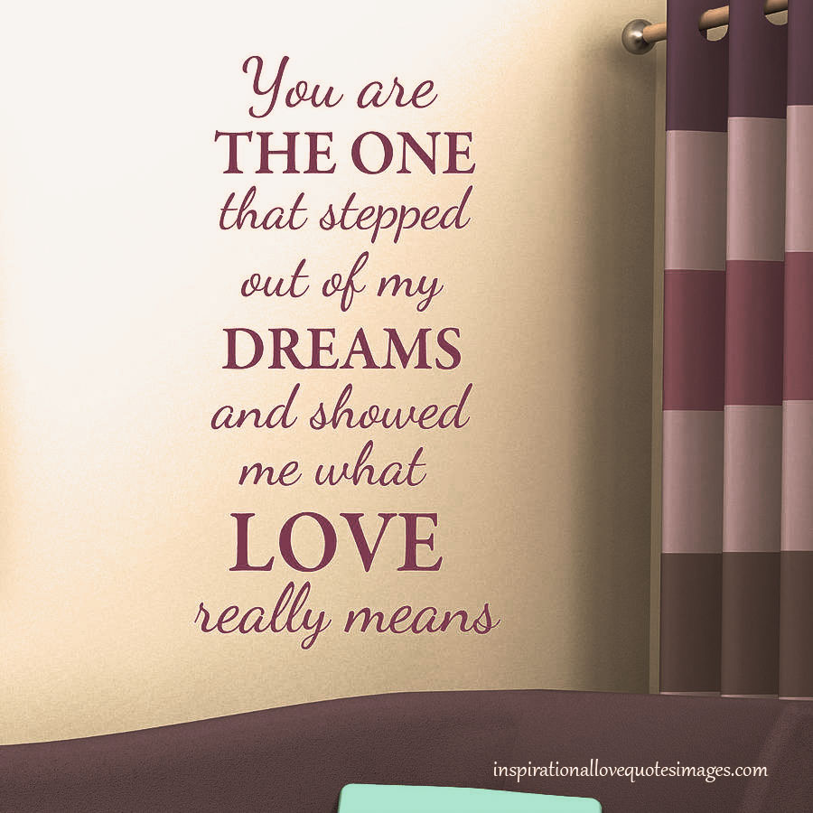 Dreams One That Short Love Quotes Him Steeped Really Means You Are Simply Decals Monogram Coloured