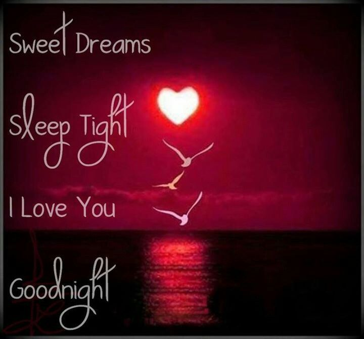 Sleep Sweet Dreams Love You Good Night