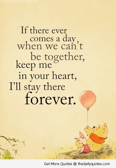 Lovely Winnie The Pooh Picture Love Friendship Cute