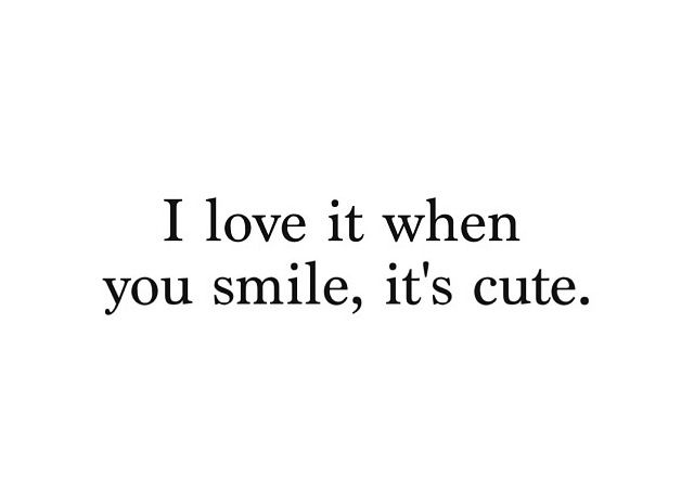 Especially When I Can See Your Adorable Dimples