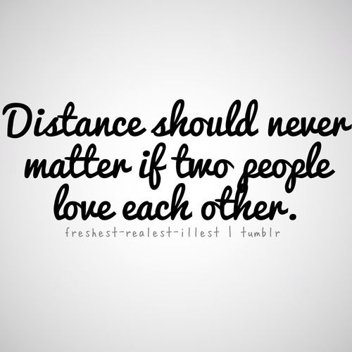 Love Quotes For Distance Relationship