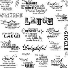 Fiskars Laugh With Me X Quote Clear Stamps Fiskar Quote Clear Stamps X Laugh With Me