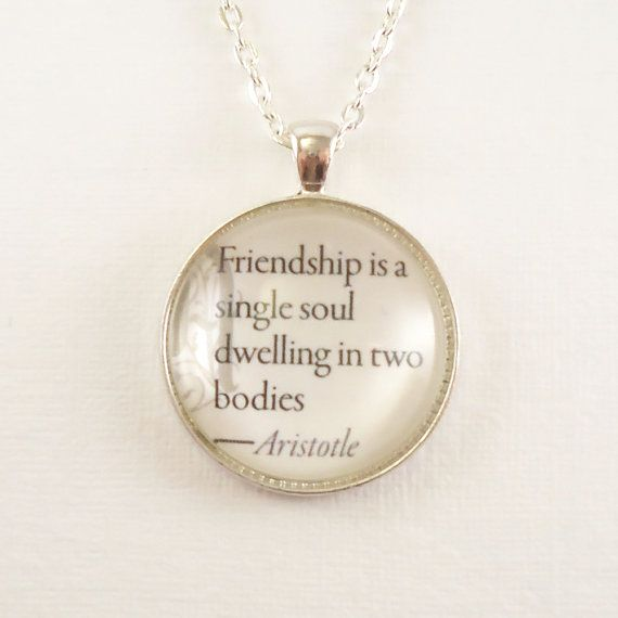Custom Quote Necklace Inspirational Quotes Love Quotes Personalized