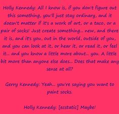 Quote From Ps I Love You With Hillary Sholly Kennedy And Gerard