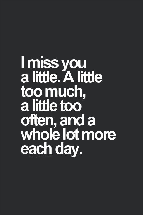 I Miss You Grief Heartbroken Heartache Heartbreak Loss Breakup