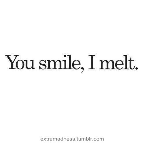 I Love Your Smile Quotes Impressive Love Your Smile Quotes Tumblr Hover Me