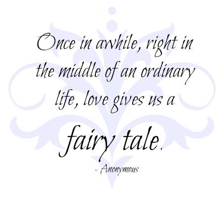 Its Like A Fairy Tale