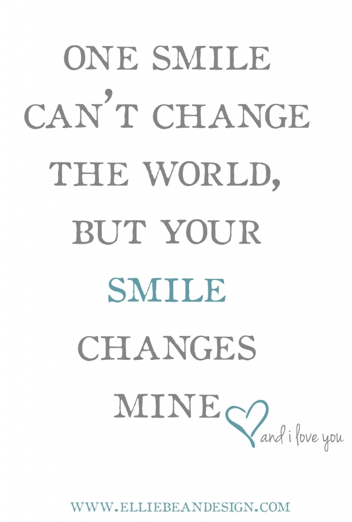 Falling In Love With Your Smile Quote Quotes About Your Smile Quotesgram