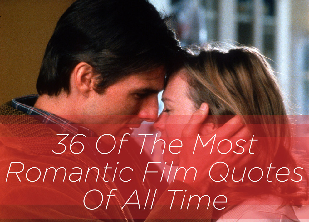 Famous Movie Love Quotes Enhanced Buzz Wide  Of The Most Romantic Quoted Of All