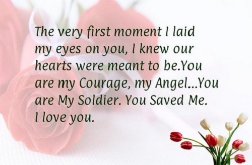 The Very First Moment I Laid My Eyes On You I Knew Our Hearts First Moment Love Quotes For Husband