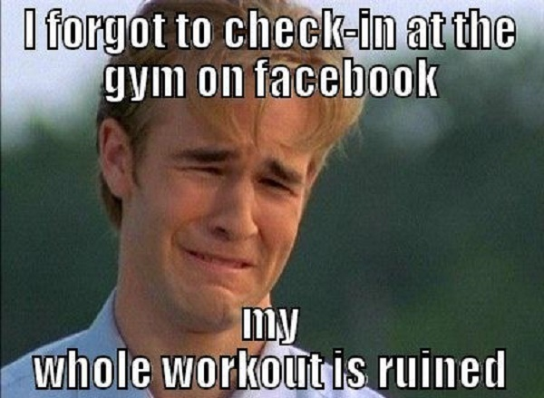 Share This Funny Gym Meme On Facebook