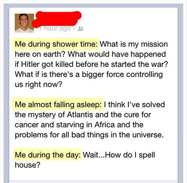 Pics Photos Funny Facebook Status Update Quotes