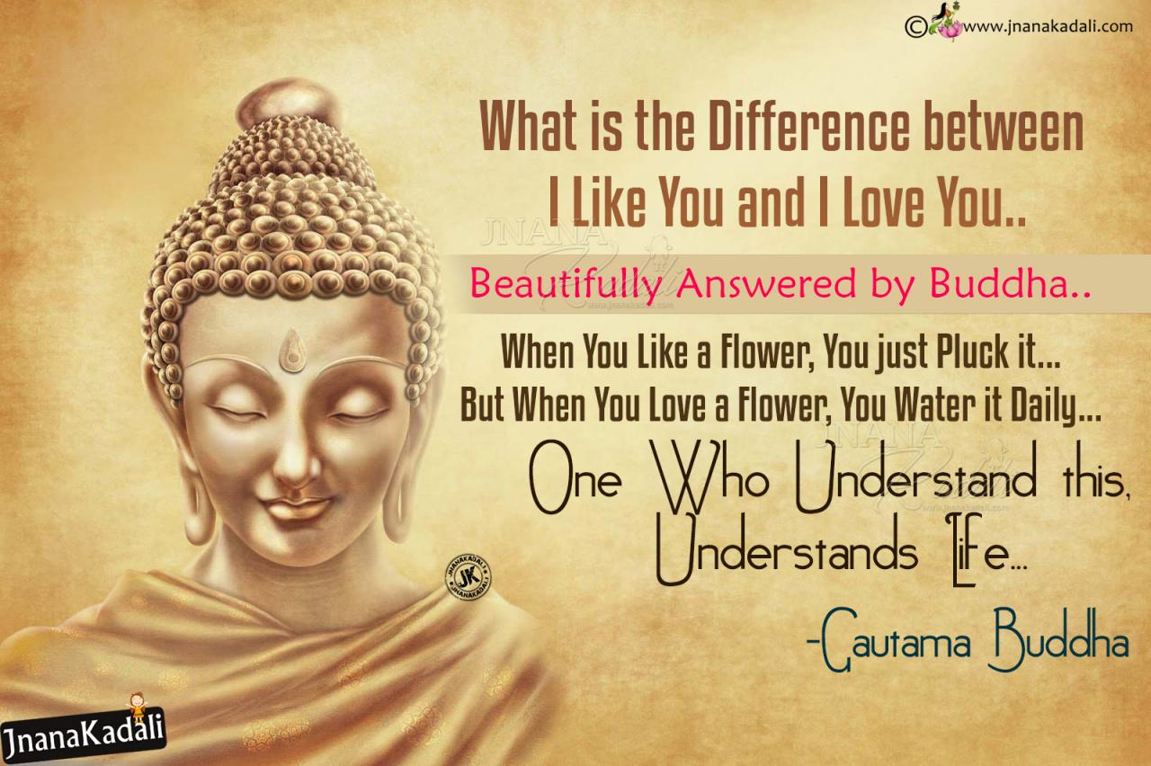 Buddha Love Quotes Gautama Buddha Latest Inspirational English Messagesvector