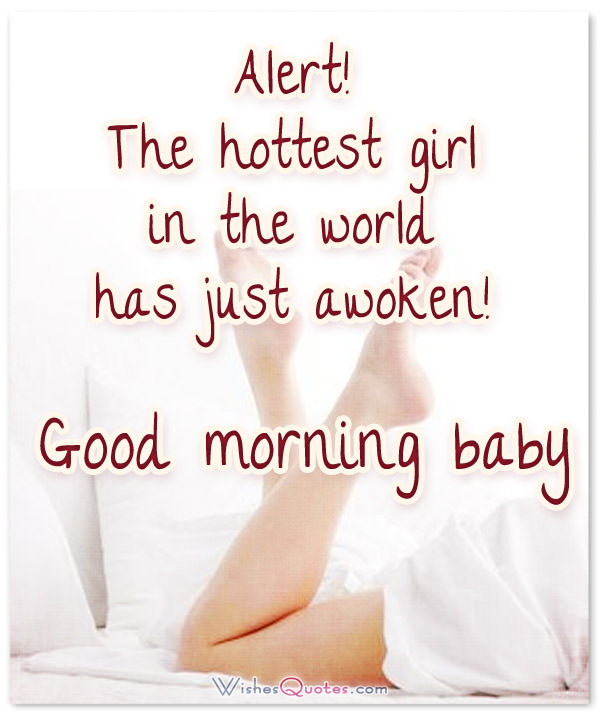 Good Morning Messages For Girlfriend Alert Thetest Girl In The World Has Just