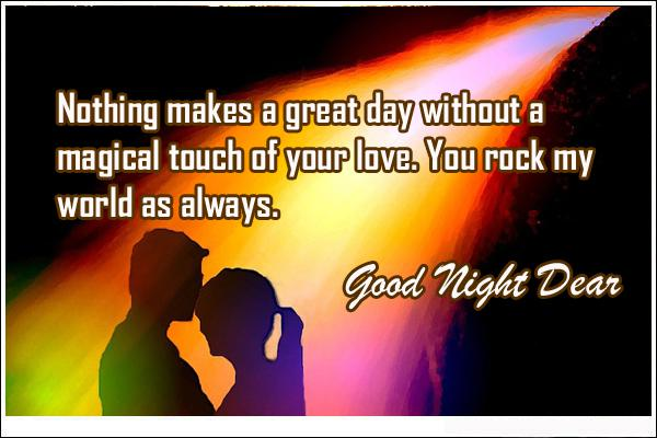 Good Night Love Quotes Your Love Hover Me