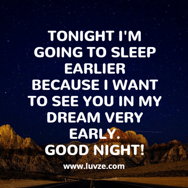 Good Night Quote For Him