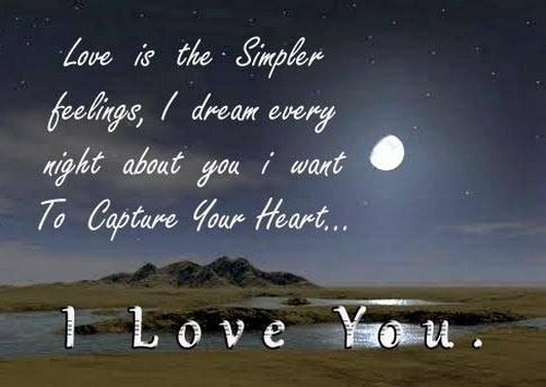 Love Quote For Good Night Hover Me