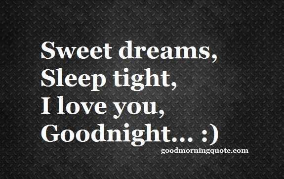 Goodnight Heart Touching Quotes