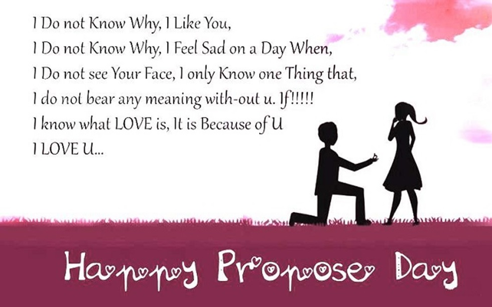 Propose Day Wishes Sms Messages For Gf Bf Happy Propose Day Greetings Quotes For Husband Wife