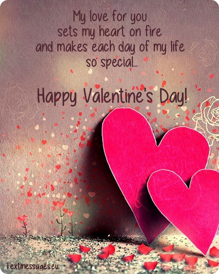 Hy Valentines Day To My Love Quotes For Him