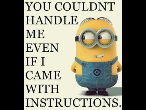 Funny Love Quotes Minion Hover Me