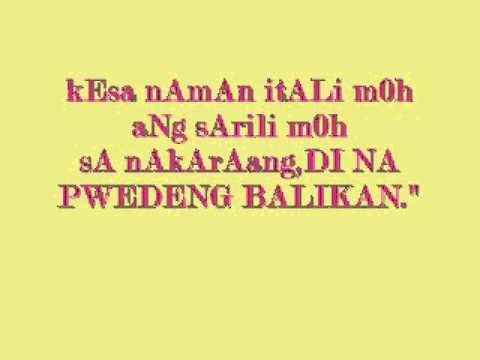 Tagalog Love Quotes Kung Alam Mo Lang You