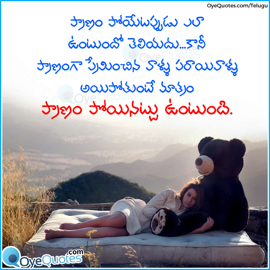Husband Wife Love Quotes Telugu Hover Me