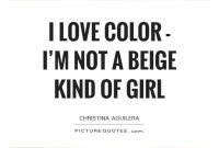 Beige Quotes I Love Color