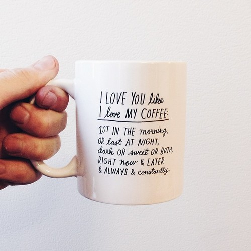Love Quotes For Her Coffee Hover Me