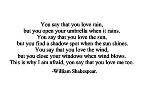 W Shakespeare Love Quotes Hover Me