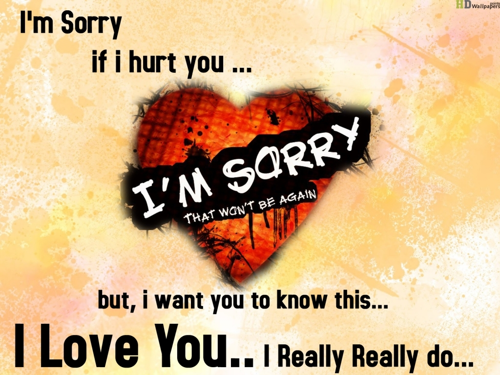 Im Sorry Quotes For Him Im Sorry I Hurt You Quotes For Him Quotesgram