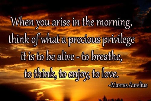 Inspirational Good Morning When You Arise In The