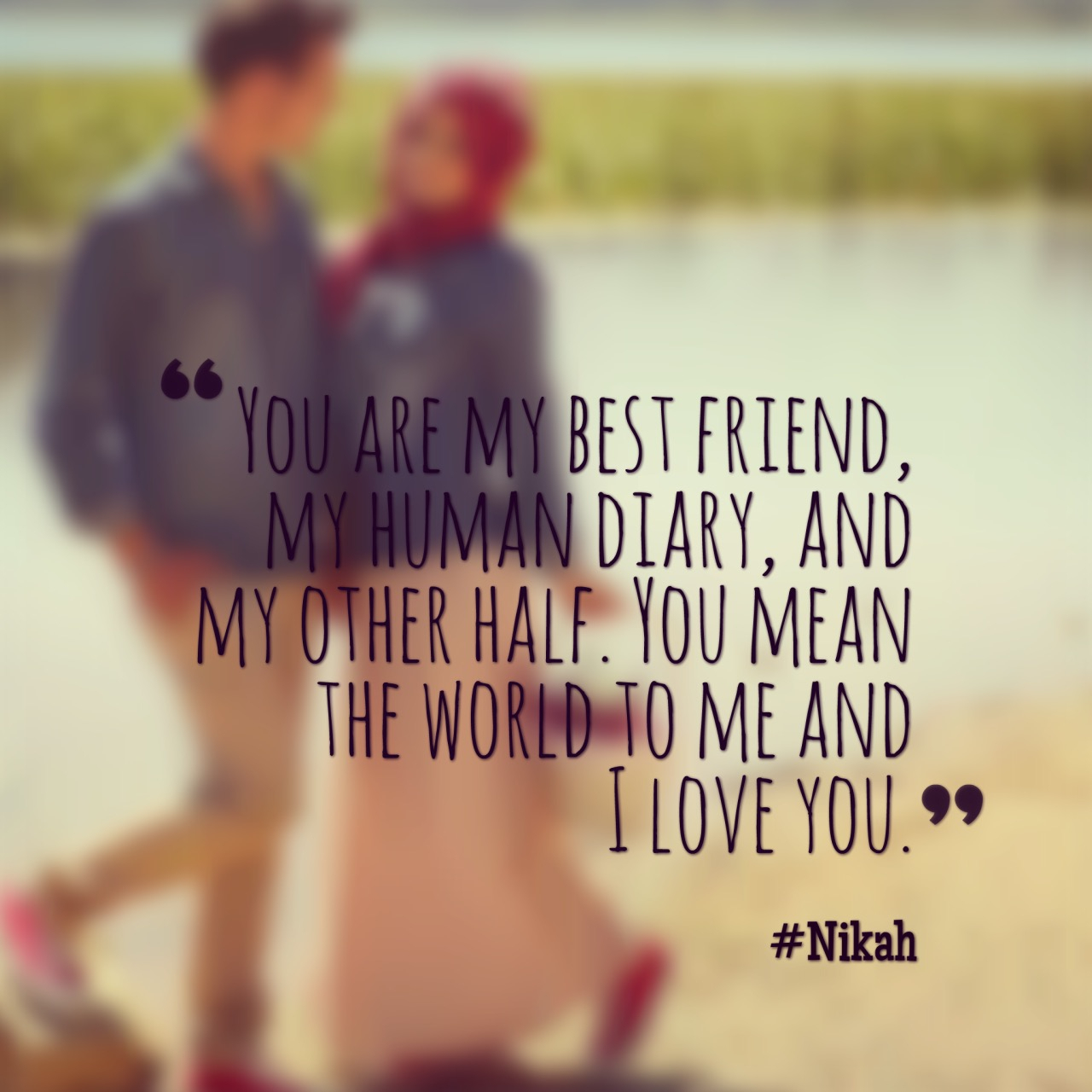 Islamic Quotes About Love Nikah Tag Your Spouse Islamic Quotes Pinterest