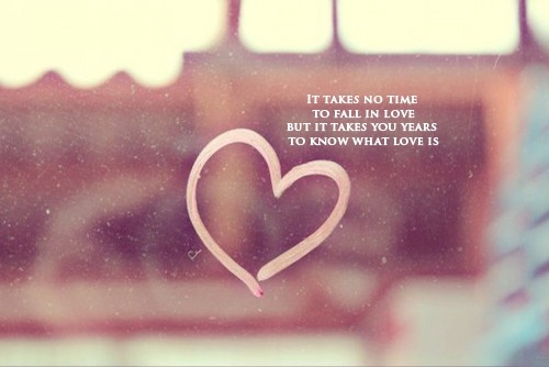 It Takes No Time To Fall In Love