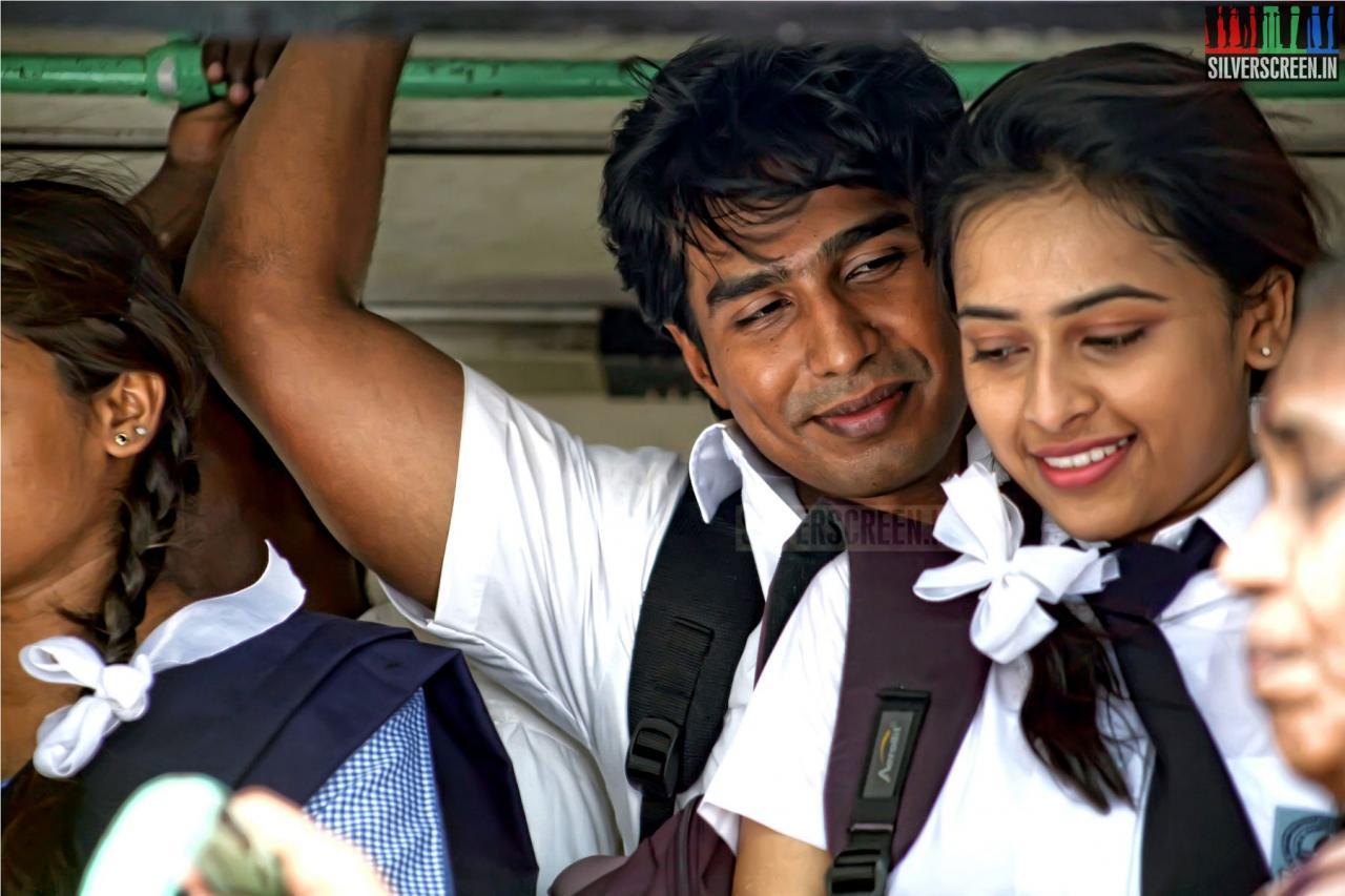 Actor Vishnu Vishal And Actres Sri Divya In Jeeva Movie Stills